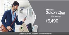 Samsung Galaxy J2 PRO at Rs. 9490  Shop Now