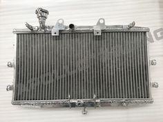 Aluminum Radiator For 2008 Triumph Rocket 3 2006 2004-2017 2005 2007 08 09 10