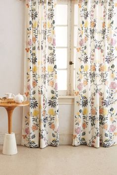 Ideas Farmhouse Kitchen Curtains Diy Living Rooms For 2019 Purple Curtains, Floral Curtains, Colorful Curtains, Patterned Curtains, Brown Curtains, Double Curtains, Velvet Curtains, Sheer Curtains, Blackout Curtains