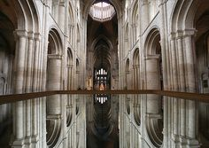 Ely Cathedral - Mirror image by Heaven`s Gate (John), via Flickr