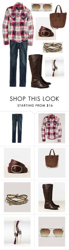 """""""Cutest Boots EVER - AEO riding outfit"""" by purplemickey17 ❤ liked on Polyvore featuring American Eagle Outfitters"""