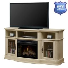 Hot Shots Hot Tubs and Spas - Dimplex Portobello  Media Console  Electric Fireplace  Model