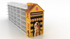 PEDIGREE ENDCAP DISPLAY... on Behance Pop Display, Display Design, Display Shelves, Pet Branding, Point Of Purchase, Exhibition Booth, Treasure Boxes, Brand Identity Design, Point Of Sale