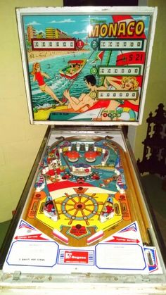 Monaco Pinball Machine