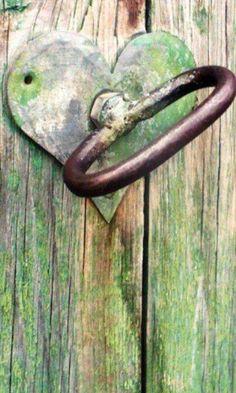 heart unlocks the door