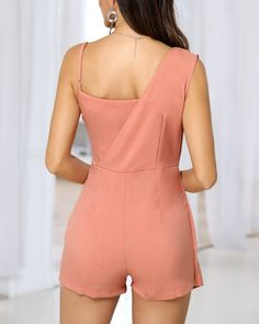 Trend Fashion, Fashion Looks, Fashion Outfits, Classy Dress, Classy Outfits, Infinity Clothing, Como Fazer Short, Two Piece Rompers, Romper Outfit