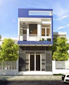 mẫu nhà đẹp 2 tầng diện tích 5x20--Kiểu dáng 6