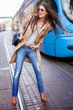 Cool Chic Style Fashion: Cool & chic style fashion Guide: September Style Ideas, Denim