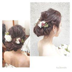 _ ♦︎ハイライトカラーを活かしたくるくるルーズアップ♦︎ hairstyling:#YIwasaki  #takamibridal#wedding#bridal#bridesmaid#hairmake#hairarrange#weddingphoto#weddingflower#flowerarrangement#Cignon#タカミブライダル#ブライダルヘアメイク#ヘアメイク#ヘアアレンジ#ヘアセット#結婚式#花嫁ヘア#編み込みアレンジ#フェミニン#ヘアスタイル#ルーズヘア#ビジュー#ブライズメイド#アップヘア#ウェディングドレス#ブライダルヘア