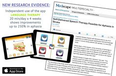 Did you know that using speech therapy apps on an iPad can help with recovery in aphasia? For the many people already using technology in therapy, this sounds obvious. But a new studynow offers scientific evidence proving the positive results that can be achieved using apps by Tactus Therapy.