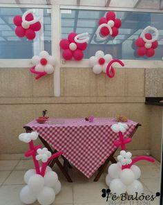 Festa feminina para uma charmosinha!