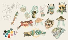 YUDANSHA - Monsters & Masters on Behance