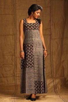 Syahi Patterned Dress