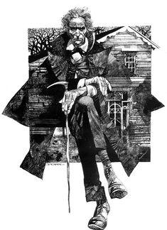 Sergio Toppi, illustrazione per Henry James