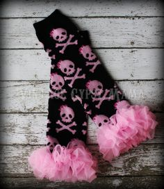 Customizable Pink Pirate Leg Warmers Tutu by VintageGypsyMama, $12.99