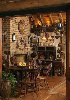 ❤️ ¿Rustic kitchen Also, kitchen. ❤️ Rustic kitchen cabinets are sometimes not made from metal. Also, it's great to have precisely what you want in your kitchen. Küchen Design, House Design, Interior Design, Rustic Design, Design Ideas, Interior Plants, Interior Ideas, Farmhouse Style, Farmhouse Decor