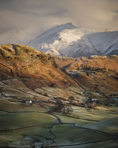 Little Langdale, Lake District, England by Mark Littlejohn Cumbria, Lake District, Beautiful World, Beautiful Places, British Countryside, England And Scotland, Great Britain, Beautiful Landscapes, The Great Outdoors