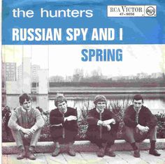 The Hunters - Russian Spy And I (Jan Akkerman's first group, JA on left and released in Rock & Pop, Pop Rocks, Cd Cover, Hunters, Spy, Dutch, Pop Culture, Nostalgia, Memories