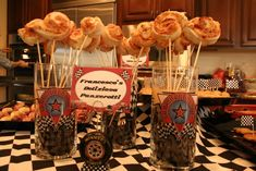 Disney Cars Birthday Party Ideas | Photo 31 of 35 | Catch My Party