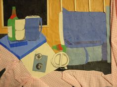2-D Fundamentals - Three different angles of one still-life using at least three types of media.