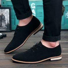 Hombres Zapatos Oxford 2016 sping/otoño Nueva Suede Planos del Cuero Genuino de Los Hombres de Oxford Zapatos Ocasionales de Los Hombres Pisos Mocasines zapatos hombre