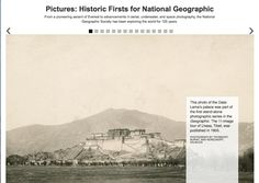The National Geographic Society has published galleries of landmark images of #exploration over the last 125 years. #history #geography