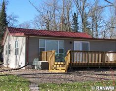 LakePlace.com - MLS 885109 - $129,900 Cabins For Sale, Outdoor Decor, Plants, Home Decor, Decoration Home, Room Decor, Plant, Home Interior Design, Planets