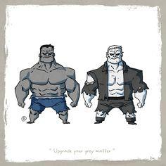 Rencontre entre les personnages similaires de Marvel et de DC Comics