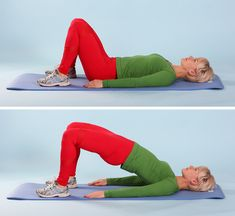 Top 5 exercises for the buttocks, which are homemade . - - My MartoKizza Yoga Position, Double Menton, Fitness Tips, Health Fitness, Gym Workout Tips, Squats, Fat Burning, Pilates, Lose Weight