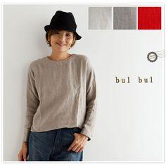 *【bul bul バルバル】(サンバレー sun valley) 東炊き リネン ビエラ 起毛 スモック ブラウス (bk8001167)<br><br><br>【select】 レディース 秋 冬 長袖