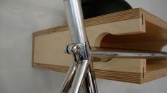Independent Woodworks ply bike shelf