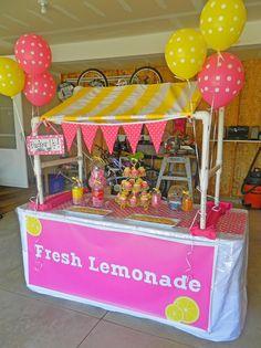 "Photo 1 of 19: Lemonade Stand / Birthday ""Jayden's 7th Birthday"" | Catch My Party"