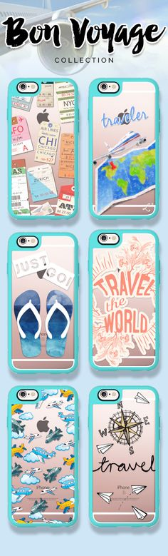 Eat well, travel often. Take a look at our Bon Voyage collection! https://www.casetify.com/collections/bon_voyage#/ | @casetify