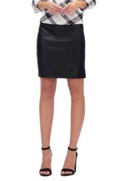 Splendid Faux Leather Pencil Skirt