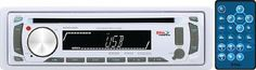 BOSS AUDIO MR648W Marine Single-DIN CD/MP3 Player Receiver, Detachable Front ...