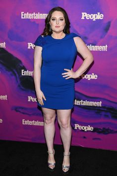 Lauren Ash Photos - Lauren Ash of Superstore attends the Entertainment Weekly & PEOPLE New York Upfronts Party on May 2019 in New York City. - Entertainment Weekly & PEOPLE New York Upfronts Party 2019 Presented By Netflix - Arrivals Lauren Ash, Entertainment Weekly, Curvy Women, Netflix, Red Carpet, People, New York, Entertaining, Tv