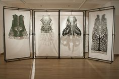 Designer Spends 982 Hours 3D Printing Clothing on a MakerBot 3D Printer http://3dprint.com/24272/3d-printed-fashion-korea/