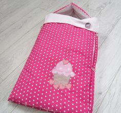 Sacco nanna rosa con muffin