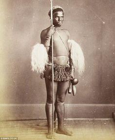 Zulu Warrior. 1879.