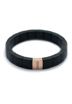 Matte Black Ceramic Bracelet