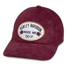 80d4b9c36cb6d Harley-Davidson Made Me Do It Ladies Cap Caps For Women