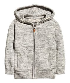 Hooded Knit Jacket | Product Detail | H&M