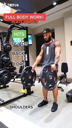 Leg Day Workouts, Gym Workout Videos, Gym Workout For Beginners, Workout Humor, Shoulder Workout Routine, Full Body Workout Routine, Body Workout At Home, Body Fitness, Fitness Tips