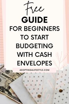 Free guide for beginners to start budgeting with cash envelopes! The cash envelope method is my way to budget, check out these cash envelope tips to make it successful. | budget with cash envelopes | how to budget | cash envelope system categories | #budgetingtips #cashenvelopemethod #cashenvelopesystem #budgetguide Coin Envelopes, Budget Envelopes, Budgeting Worksheets, Budgeting 101, Finance Blog, Finance Tips, Change Jar, Cash Envelope System, Financial Planner