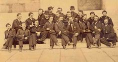 Officers of the 80th Ohio Volunteer Infantry pictured in 1865. The 80th OVI was organized at Camp Meigs (Tuscarawas County Fairgrounds) between October 1861 and January 1862. The 80th OVI saw action in Cornith, Vicksburg,Mission Ridge and Sherman's March to the Sea.