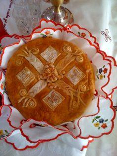 """Slava"" bread. + + + Κύριε Ἰησοῦ Χριστέ, Υἱὲ τοῦ Θεοῦ, ἐλέησόν με + + + The Eastern Orthodox Facebook: https://www.facebook.com/TheEasternOrthodox Pinterest The Eastern Orthodox: http://www.pinterest.com/easternorthodox/ Pinterest The Eastern Orthodox Saints: http://www.pinterest.com/easternorthodo2/"