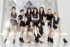 Korean pop group Girls Generation picture