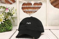 Vintage PAPI Baseball Cap Low Profile Dad Hats by TheHatConnection