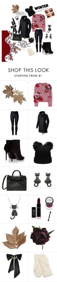 """winter"" by omerhodzicajla ❤ liked on Polyvore featuring Dolce&Gabbana, SOREL, Yves Saint Laurent, Amanda Rose Collection, Bliss Studio, Abigail Ahern and Oscar de la Renta"