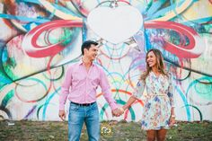 Walls of Wynwood - Engagement images in Graffiti Land by Award Winning Miami wedding Photographer #ezekiele #engagementphotos #miamiphotographers #miamiweddingphotographers #fineartphotographers